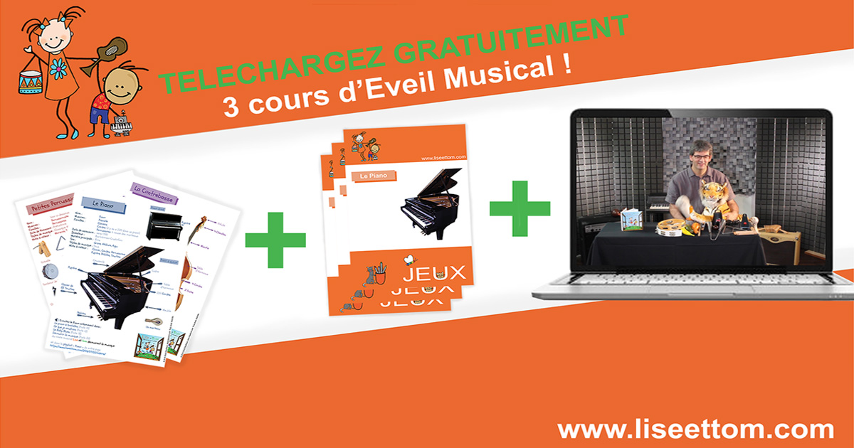 cours d 39 veil musical en ligne lise et tom d couvrent la musique. Black Bedroom Furniture Sets. Home Design Ideas